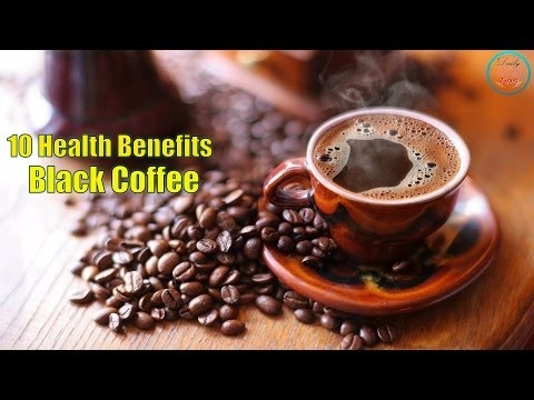 Top 10 Health Benefits of Black Coffee