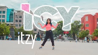 "⌜ kpop in public méxico ⌟ ❄ itzy ; ""icy"" / dance cover by vee orion"