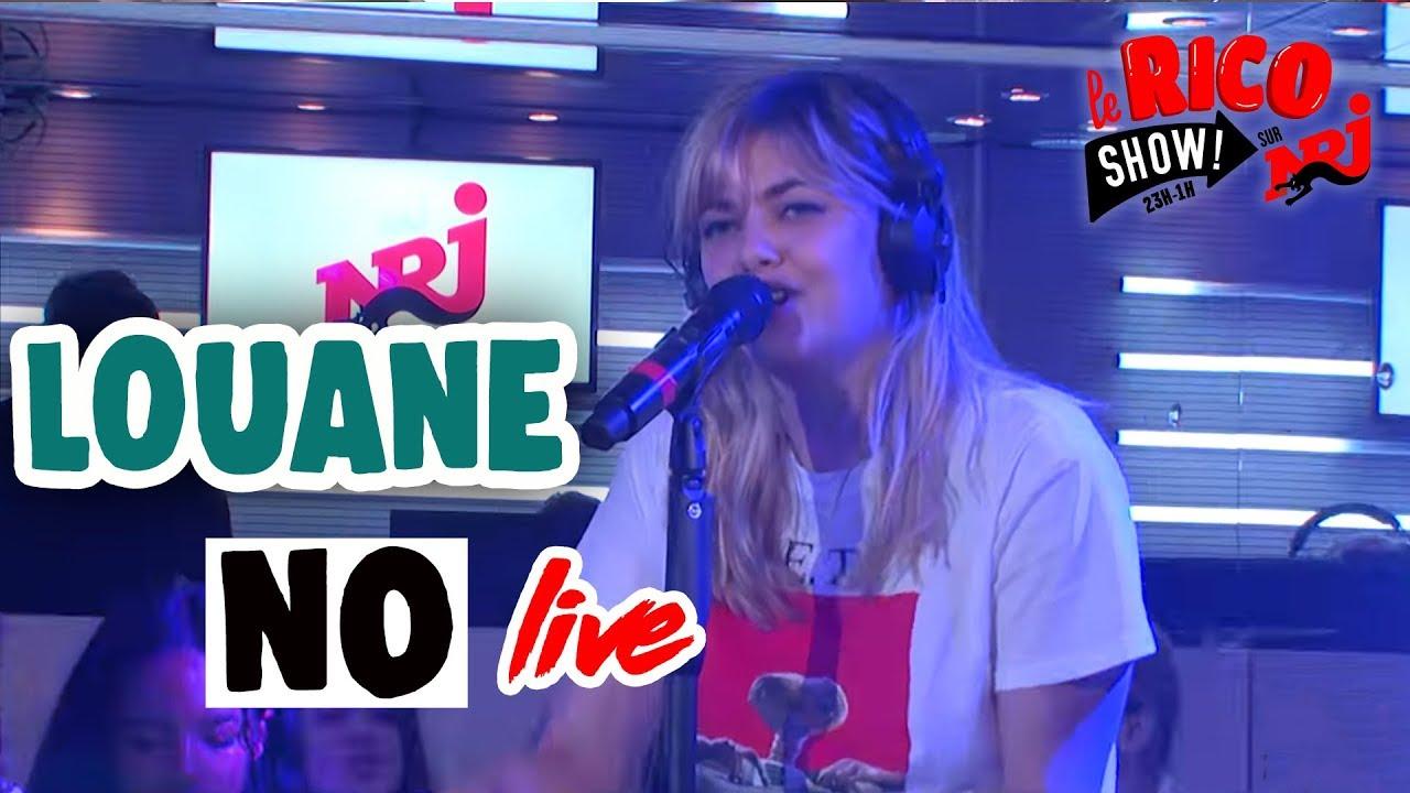 """Louane """"No"""" Live - Le Rico Show sur NRJ"""