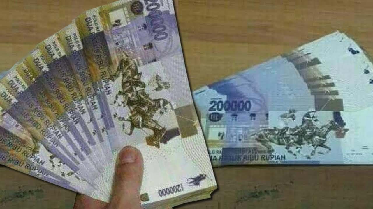 Beredar Gambar Pecahan Rp 200 Ribu di Pesan Grup WhatsApp ...