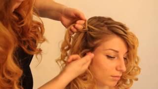 BaByliss: Curl Secret Прическа с плетением косы видео урок