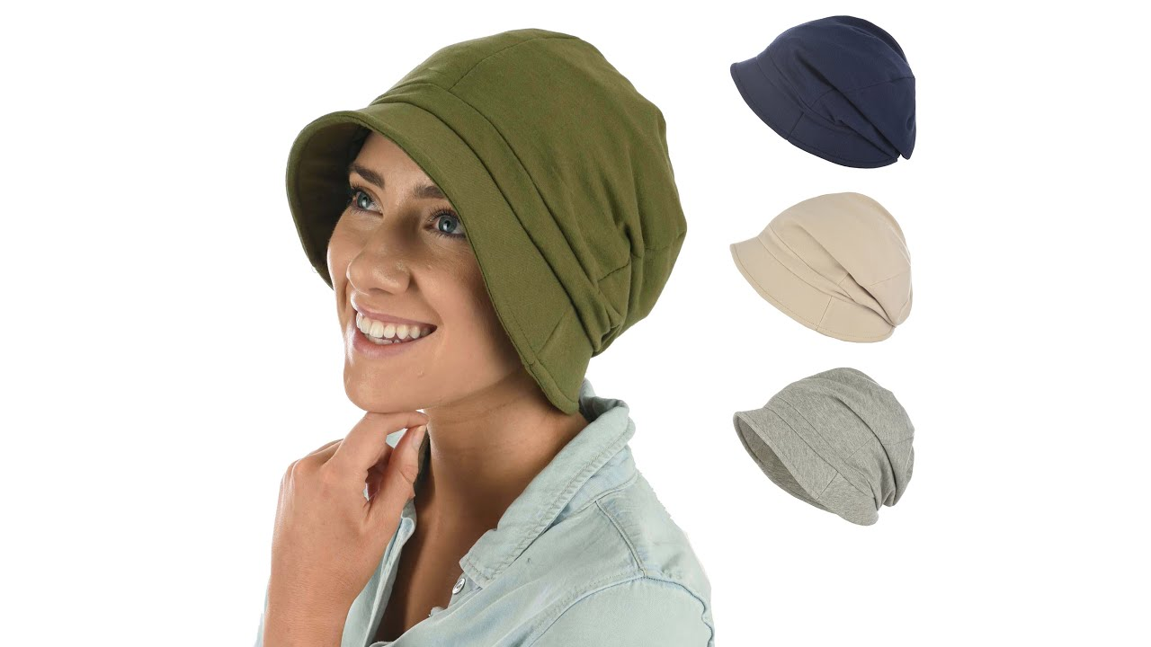 HEADWEAR FOR HAIR LOSS QUICK /&  EASY PULL-ON  BEANIE IN COTTON-VISCOSE JERSEY