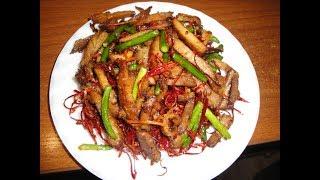 Жареная говядина по-китайски рецепт от шеф-повара / Илья Лазерсон / китайская кухня