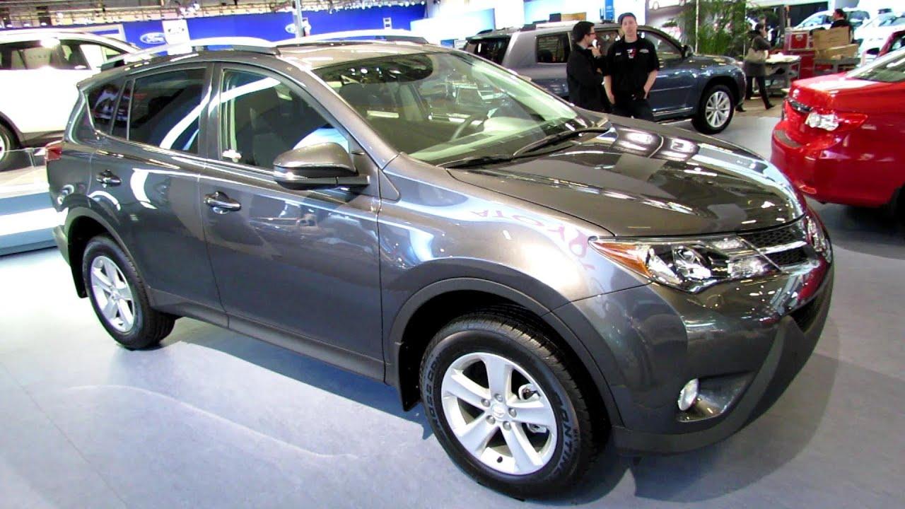 2013 Toyota RAV4 XLE AWD   Exterior And Interior Walkaround   2013 Montreal  Auto Show   YouTube