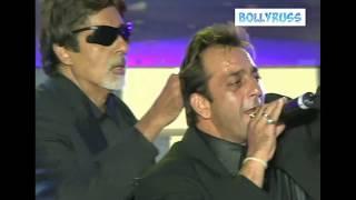 Шарук Кхан/Амитаб Баччан/ Ритик Рошан/ Санджай Датт поют вживую, это прикол
