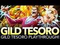 GILD TESORO 40-STAMINA PLAYTHROUGH! (One Piece Treasure Cruise - Global)