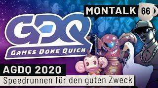 Awesome Games Done Quick 2020 - Unsere Highlights vom Speedrun-Event | Montalk #66