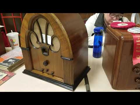 Wisconsin antique radio club swap meet in Milwaukee 1/21/18