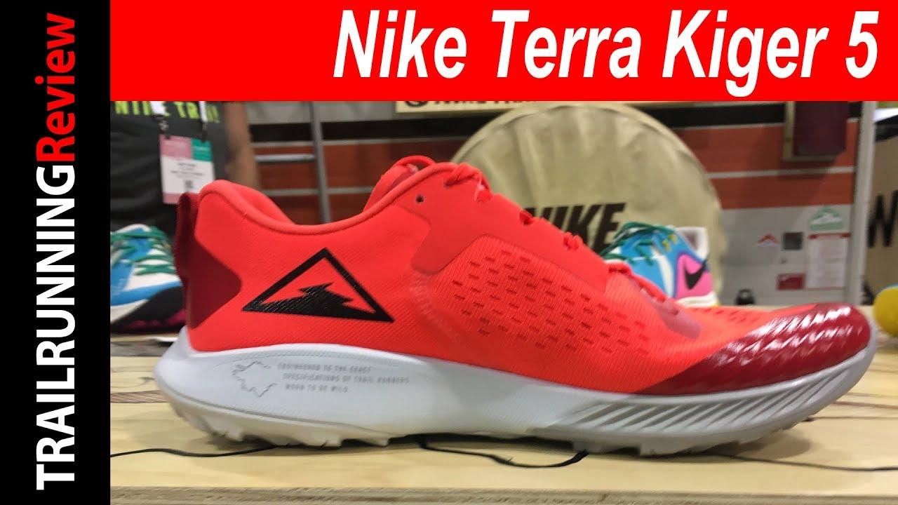 Nike Terra Kiger 5 Preview - Renovación