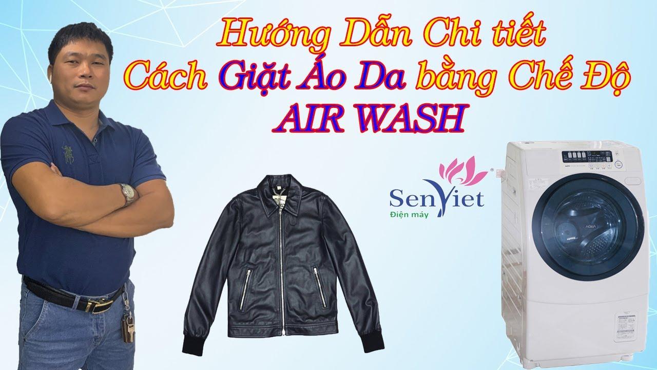 Hướng dẫn cách giặt áo da trên máy giặt  -0968632166