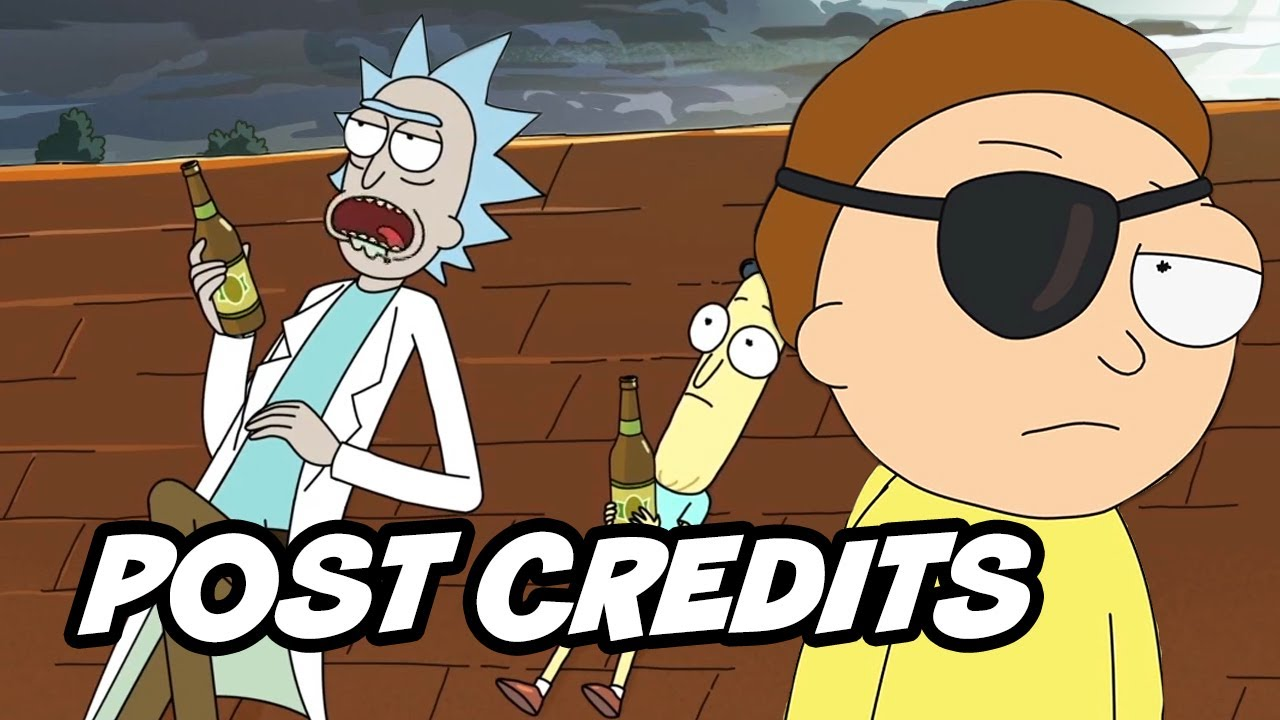 Rick And Morty Season 4 Episode 3 Post Credit Scene Evil
