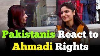 How should Qadianis / Ahmadis be treated in Pakistan ?
