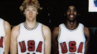 larry bird and magic johnson on the same team