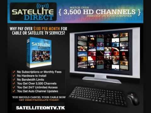 Satellite Tv Internet >> Satellite Tv On Your Pc Internet Tv Watch Live Sports Satellite