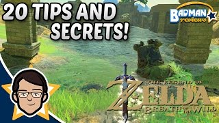 Zelda Breath of the Wild: 20 Tips, Secrets, And Easter Eggs - Badman