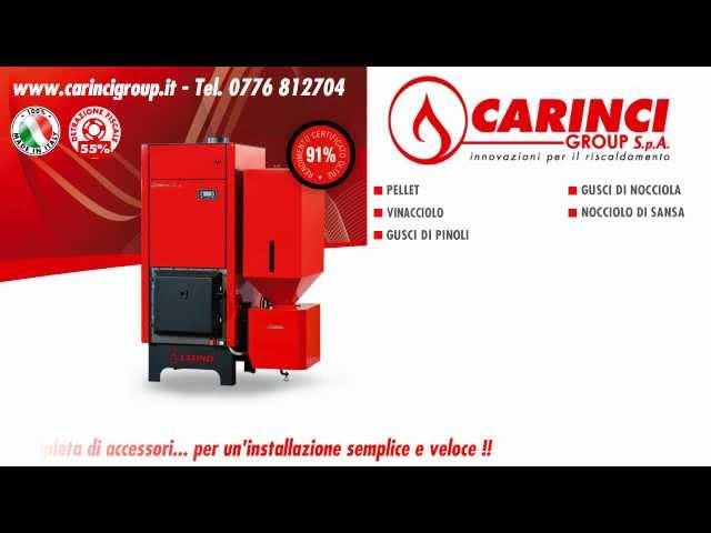CARINCI Magnum - Caldaia a Biomassa