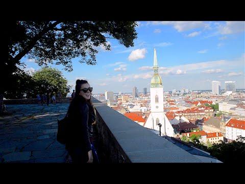 Delayed flights, lost bag, Slovakia day trip | Europe VLOG Series