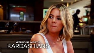 KUWTK | Khloe Kardashian Finds Out About Rob and Blac Chyna's Big Fight | E!
