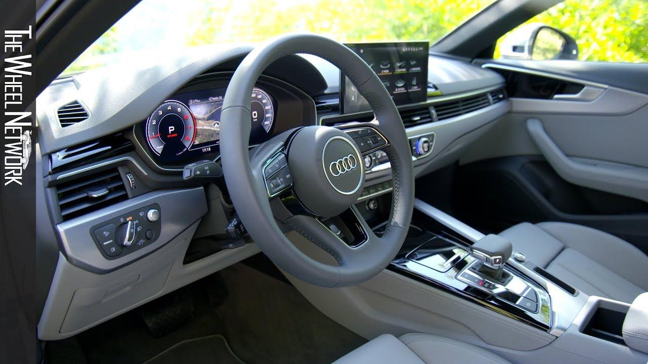 2020 audi a4 sedan 40 tfsi interior - youtube