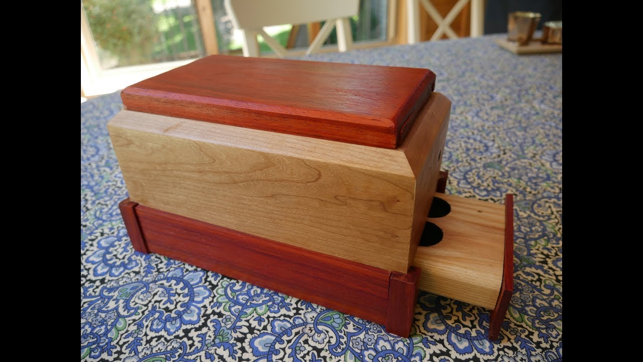 Making a Secret Compartment Box // Inspired by Dustin Penner #1