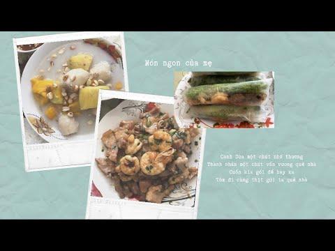 Canh dừa, gỏi cuốn tôm thịt | Món ngon của mẹ | Phạm Thư