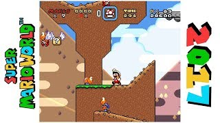 Dragon Valley • Hack of Super Mario World