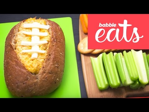 Buffalo Chicken Dip For Game Day | Appetizers & Snacks | Babble Eats
