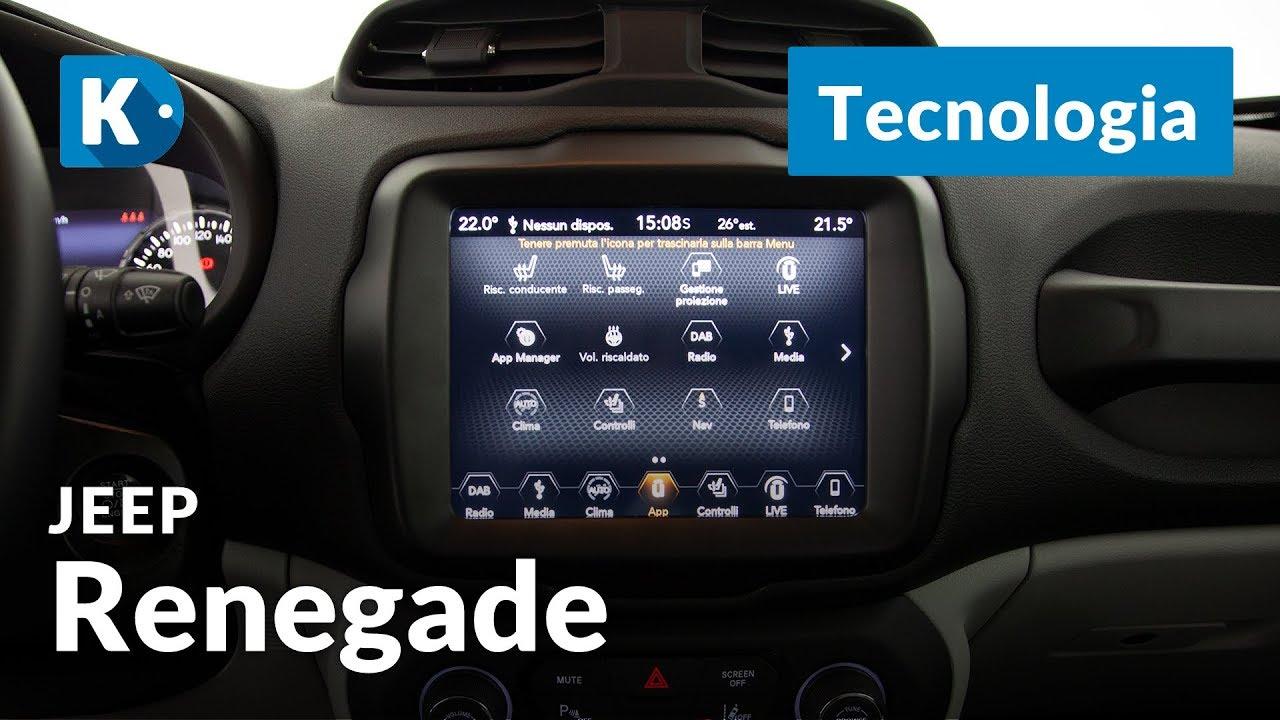 Jeep Renegade 2019 3 Di 3 Tecnologia Il Nuovo Sistema Di
