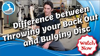 Resistance Stretching (DCT) - Diffęrence Between a Bulging Disc and Throwing Your Back Out