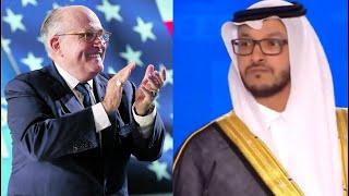 كلمة قوية للسعودي سلمان الأنصاري في مؤتمر المعارضة الإيرانية وبحضور مستشار ترامب