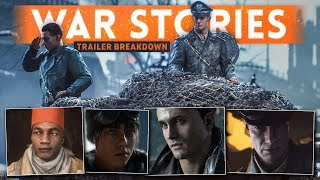 battlefield 5 war stories trailer breakdown    single player info    hidden  details