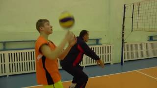 Обучение волейболу. Индивидуальные  упражнения с мячом