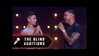 Blind Audition: Budjerah Slabb - Climb Every Mountain - The Voice Australia 2019