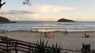 Timelapse Beach Canto Praia da Vila - Imbituba/SC Lindo final de tarde