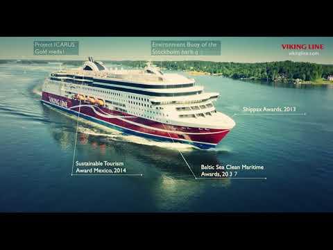 Viking Line's environmental work
