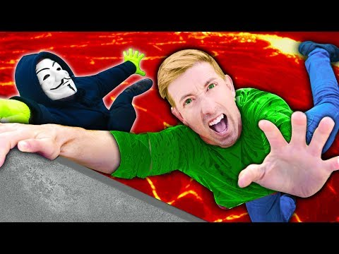 CWC vs HACKER in FLOOR IS LAVA CHALLENGE for Project Zorgo Ninja Gadget thumbnail