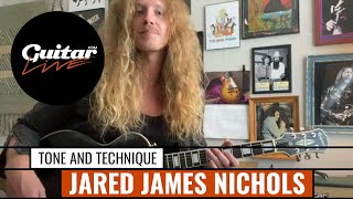 """How to achieve a powerful blues guitar tone"" with Jared James Nichols"