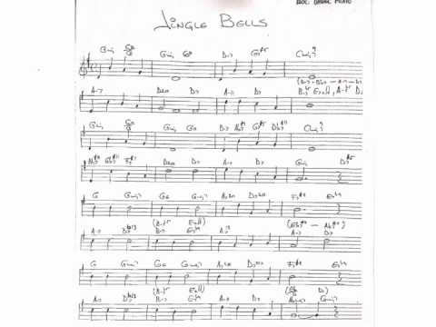 Jingle bells chords on