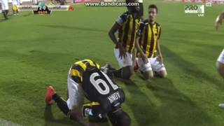 فيديو| «كهربا» يسجل في فوز الاتحاد على الرائد بافتتاح الدوري السعودي