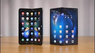 Huawei Mate X VS Samsung Galaxy Fold || Camera, Game & Phone Review ||【Known Mobile】