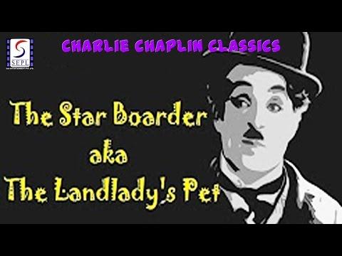 The Star Boarder l Charlie Chaplin l Funny Silent Comedy Film (1914)