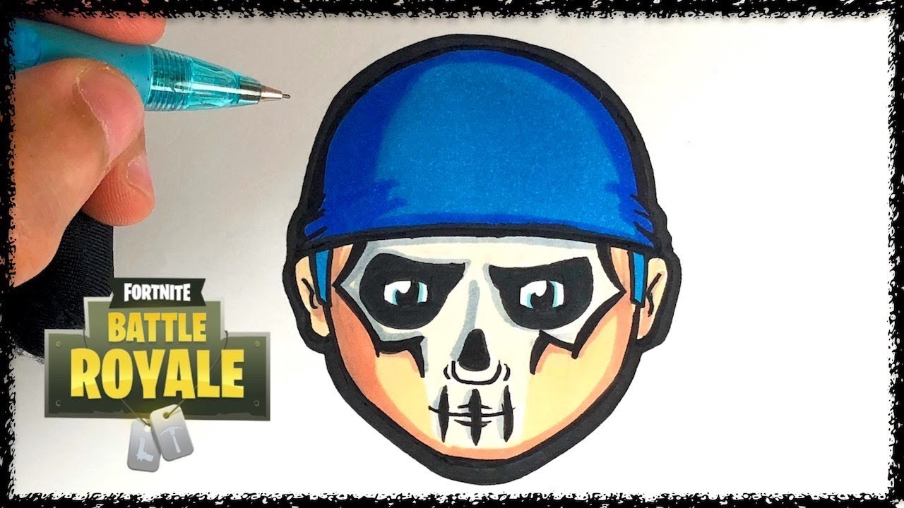 Coloriage Emoji Fortnite.Tuto Emoji Peinture De Guerre Fortnite Youtube