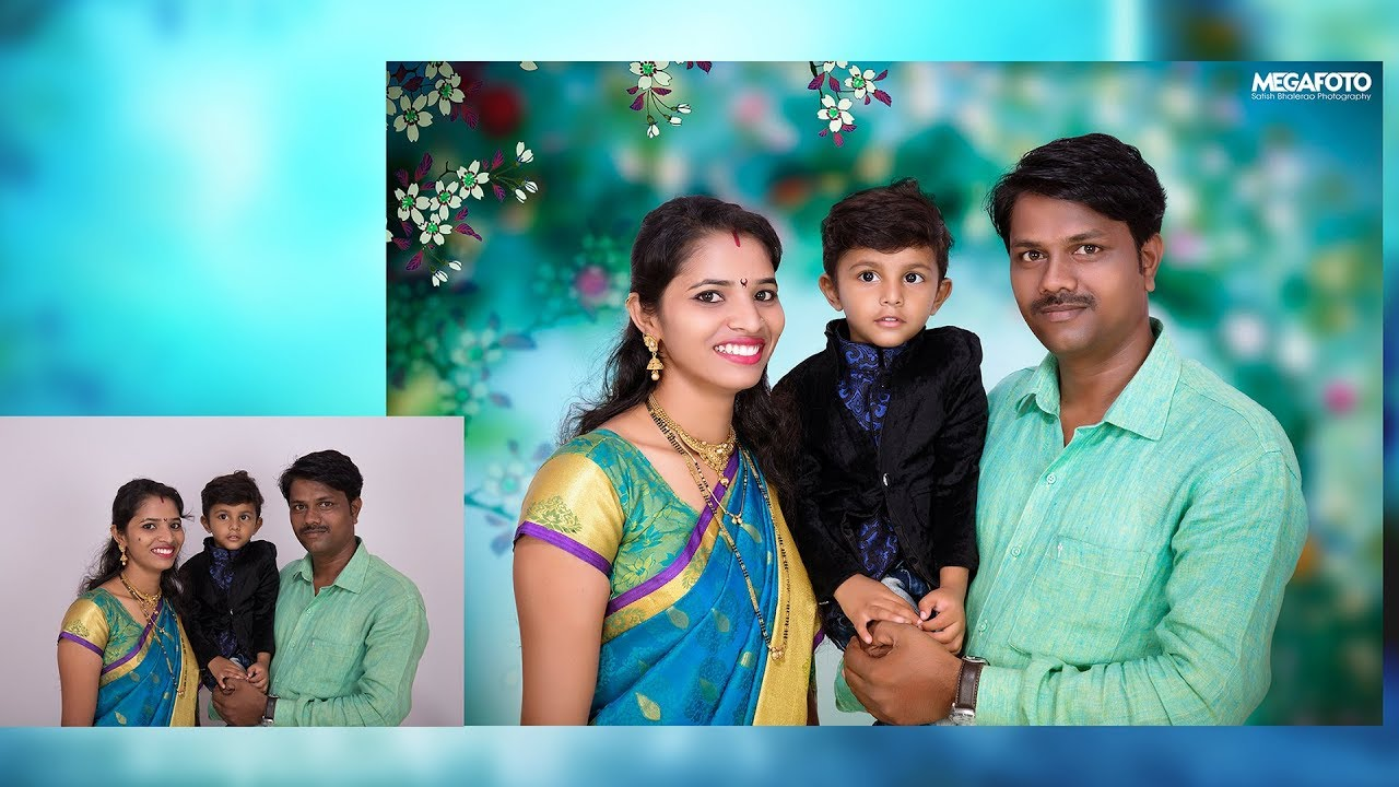 Family Photo Editing In Photoshop Cc Tutorial In Hindi Youtube
