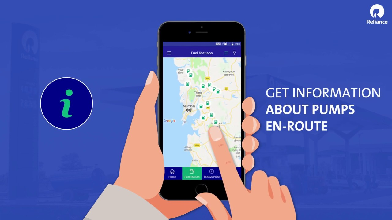 Nearest Fuel Station >> Reliance Petroleum App Plan Your Trip With Nearest Fuel Station