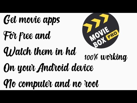 GET MOVIE APPS ON ANDROID AND WATCH THEM ON YOUR ANDROID DEVICE OR TV 100℅ WORKING IN HD NO ROOT