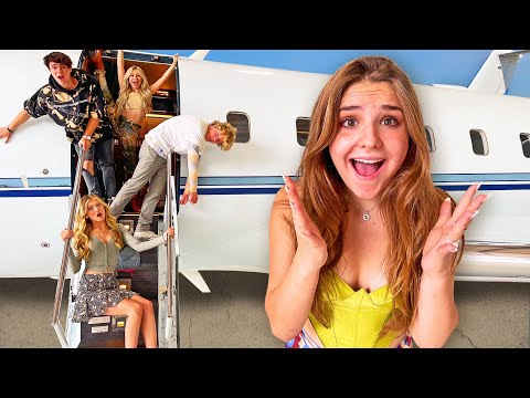 LAST TO LEAVE  $25,000,000 PRIVATE JET, KEEPS IT ✈️ | Piper Rockelle
