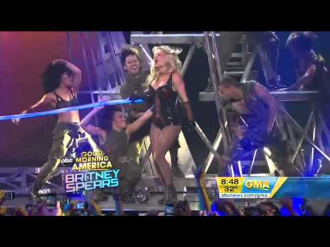 Britney Spears -- Till The World Ends (Live Good Morning America)
