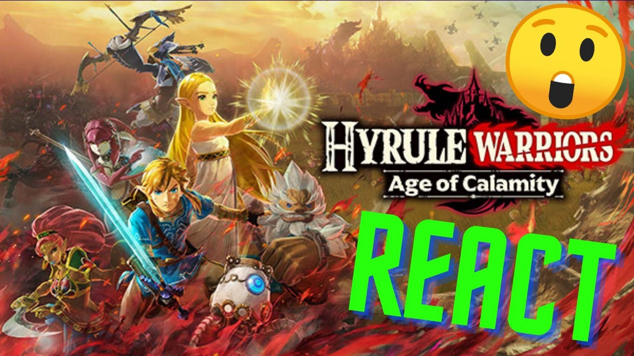React Hyrule Warriors Zeit Der Verheerung Youtube