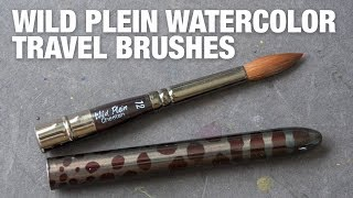 Review: Wild Plein Watercolor Travel Brushes