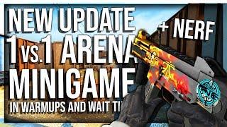 CS:GO ADDS 1V1 AIM MAP ARENA (NEW UPDATE)